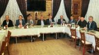 FELAKET - İlçe Belediye Başkanları Toplantısı Yahyalı'da Yapıldı