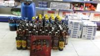 İL JANDARMA KOMUTANLIĞI - İzmir'de Kaçak Alkol Ve Sigara Satan Markete Jandarma Baskını
