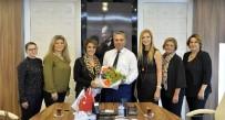 ANTALYA - Kadın Girişimciler Başkan Uysal'a Ziyaret