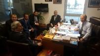 ALİ ŞAHİN - Karabük Gazeteciler Cemiyeti'nden Milletvekili Şahin'e Ziyaret
