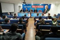 HARUN KARACAN - Karacan'dan AK Parti Tepebaşı Yönetimine Hayırlı Olsun Ziyareti
