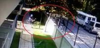POLİS EKİPLERİ - Manisa'da Bisiklet Hırsızlığı Güvenlik Kamerasında