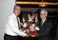 ÇAĞA - PTT Başmüdürü Uğurtepe, Belediye Başkanı Ünver'i Ziyaret Etti