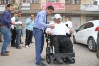 SAVAŞ KONAK - Silopi Kaymakamı Savaş Konak'tan Engelli Vatandaşa Akülü Araç