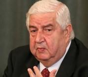DıŞIŞLERI BAKANLıĞı - Suriye Dışişleri Bakanı Muallim Moskova Yolcusu