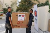 AMMAN - Ürdün'de Filistinli Mültecilere Tıbbi Ekipman Desteği