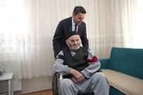 EYÜP EROĞLU - Yaşlı Adama Tekerlekli Sandalye Desteği