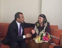TUNCAY SONEL - 93 Yaşındaki Yaşlılara Cumhuriyet Ziyareti
