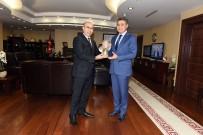 GÖREV SÜRESİ - Balıkesir'e Atanan Emniyet Müdürü Zeybek'ten, Vali Demirtaş'a Veda Ziyareti