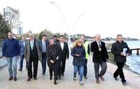 İSMAIL YıLDıRıM - Başkan Karaosmanoğlu, Dereköy Sahilinde İnceleme Yaptı