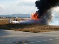 TATBIKAT - Çanakkale Havaalanı'nda Yangın Tatbikatı