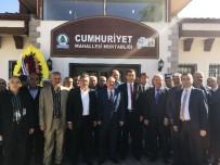 MAKAM ODASI - Cumhuriyet Mahallesi Muhtarlık Binası Hizmete Açıldı