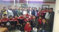 MURAT DURU - Develisporlu Futbolcular Moral Yemeğinde Bir Araya Geldi