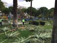 EDREMIT BELEDIYESI - Edremit'te Parklara Kış Bakımı