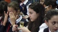 FILISTIN - Filistinli Öğrencilere Zeytin Çayı İkram Edildi