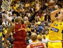 İSRAIL - Galatasaray Odeabank Avrupa Ligi'nde Maccabi'ye yenildi