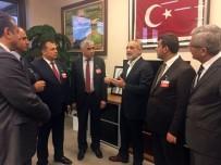 AHMET DEMIRCI - GMİS Yönetimi Cumhurbaşkanı Başdanışmanı Topçu'yu Ziyaret Etti