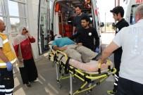 BAHÇECIK - İncir Ağacından Düşen Adam Yaralandı