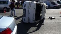 MİNİBÜS ŞOFÖRÜ - Malatya'da Kaza Açıklaması1 Yaralı