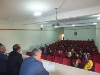 HALK EĞİTİM MERKEZİ - Malazgirt HEM'de Değerlendirme Toplantısı