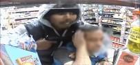 SİLAHLI SOYGUN - Markette silahlı soyguncu dehşeti