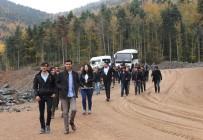 MÜHENDISLIK - Mühendis Adayları 100 Milyonluk Projeyi Gezdi
