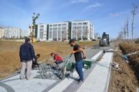 ÜNİVERSİTE KAMPÜSÜ - NKÜ Kampüs Giriş Kapısı Peyzaj Çalışması Ve Yol Düzenlemeleri Tüm Hızıyla Devam Ediyor