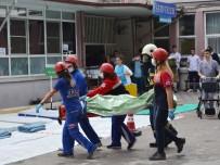 Soma'da Deprem Tatbikatı Gerçeğini Aratmadı