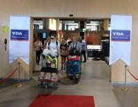 GÜRCISTAN - Türkiye'ye Gelen Yabancı Sayısı Yüzde 33 Azaldı