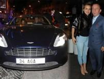 ROLLS ROYCE - Ali Ağaoğlu'nun yeni arabasıyla şov yaptı