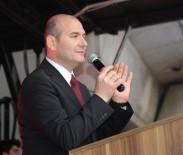 TRABZON VALİSİ - Bakan Soylu'yu Görmek İsteyen Vatandaşlar İzdihama Yol Açtı