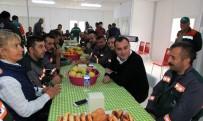 İŞÇİ GÜVENLİĞİ - Başkan Taşdelen, Alacaatlı Lojistik Merkezi'nde Çalışanlarla Buluştu