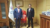 FARUK ÖZÇELIK - Çaturoğlu, Gençlik Ve Spor Bakanlığı Ve PTT Genel Müdürlüğü'nü Ziyaret Etti