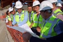GÖKÇELER - DSİ Genel Müdürü Acu, Gökçeler Baraj İnşaatını İnceledi