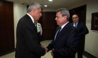 İL EMNİYET MÜDÜRLERİ - Emniyet Müdürü Yarımel'den Başkan Karaosmanoğlu'na Veda Ziyareti