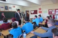 İLÇE MİLLİ EĞİTİM MÜDÜRÜ - Ermiş'in Okul Ziyaretleri Sürüyor