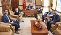 SEÇİMİN ARDINDAN - Erzincan Barosundan Erzincan Valiliğine Ziyaret