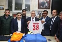 ALIBEYKÖY - Eyüp Belediyesi'nden Makedonya'ya Spor Malzemesi Desteği