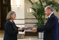 CUMHURBAŞKANı - Finlandiya Büyükelçisi'nden Erdoğan'a Güven Mektubu