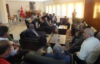 MÜBADELE - Romanlardan Başkan Atabay'a Ziyaret