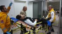CINAYET - Samsun'da Silahlı Saldırı Açıklaması 1 Yaralı