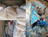 157 ton bomba yakalandı