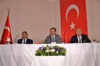 Vali Yıldırım, Taşköprü'de Bilgilendirme Toplantısına Katıldı