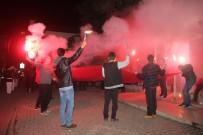 HACI İBRAHİM TÜRKOĞLU - Bafra'da Bayrak Yürüyüşü