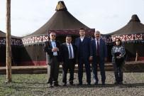 MEHMET BOZDAĞ - Başkan Yağcı'dan 'Diriliş Ertuğrul' Dizisinin Setine Ziyaret