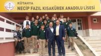 OSMAN KıLıÇ - Köy Ortaokulu Öğrencileri Kütahya'daki Liseleri Gezdi