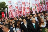 TAŞDELEN - Taşdelen, 'Büyük Cumhuriyet Yürüyüşü'ne Katıldı