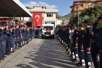İTFAİYE MÜDÜRÜ - Antalya'da Görev Şehidi İtfaiye Eri Son Yolculuğuna Uğurlandı