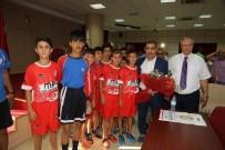 İŞİTME ENGELLİLER - Başkan Çelikcan'dan Amatör Kulüplere Malzeme Yardımı