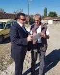 KANDILLI - Bozüyük Belediyesi'nden Köylere Hizmet